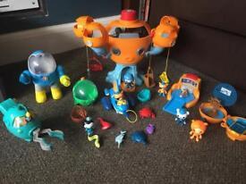 Octonaut toys