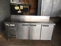 Counter bench fridge shop cafe restaurant bakery takeaway shop fridge worktop bench fridge