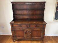 Dark wood Dresser