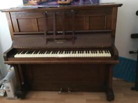 Upright piano - Hamilton & Ross London