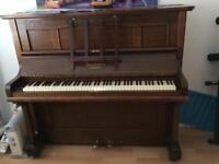 Upright piano - Hamilton & Ross London