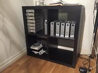 Small Ikea shelving unit in perfect condition