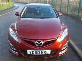 2010 MAZDA 6 SPORTS, 2.2 DIESEL, FULL MAZDA DEALER SERVICE HISTORY, HPI CLEAR, WARRANTED MILEAGE