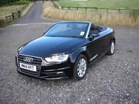 2014 14 AUDI A3 2.0 TDI CONVERTIBLE 150 BHP NEW SHAPE CABRIOLET DAMAGED SALVAGE