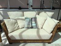 Prado Conservatory Set Solid Hardwood Frame with Removable Scatter Cushions