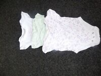 bundle girls vest's 3-6 months