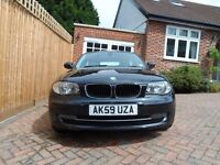 BMW 1 Series Black 118d Diesel Automatic