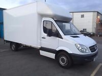 Man & Van (Luton van with tail lift) Cheap and Reliable Service 24/7