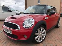 Mini Cooper S 1.6 175ps 44000 FSH 08plate 1 previous owner full leather