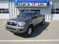 2013 Toyota Tacoma SR-5 CREW 4X4 AUTO LOCAL (NO PST) 24K!
