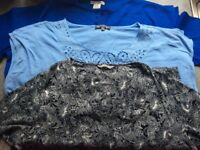 Bundle Of Ladies Tops Size 18