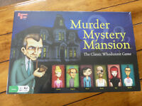 Murder Mystery Mansion - The Classic Whodunnit Family Board Game