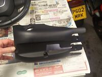 Genuine Audi A3 lower steering column cowling.