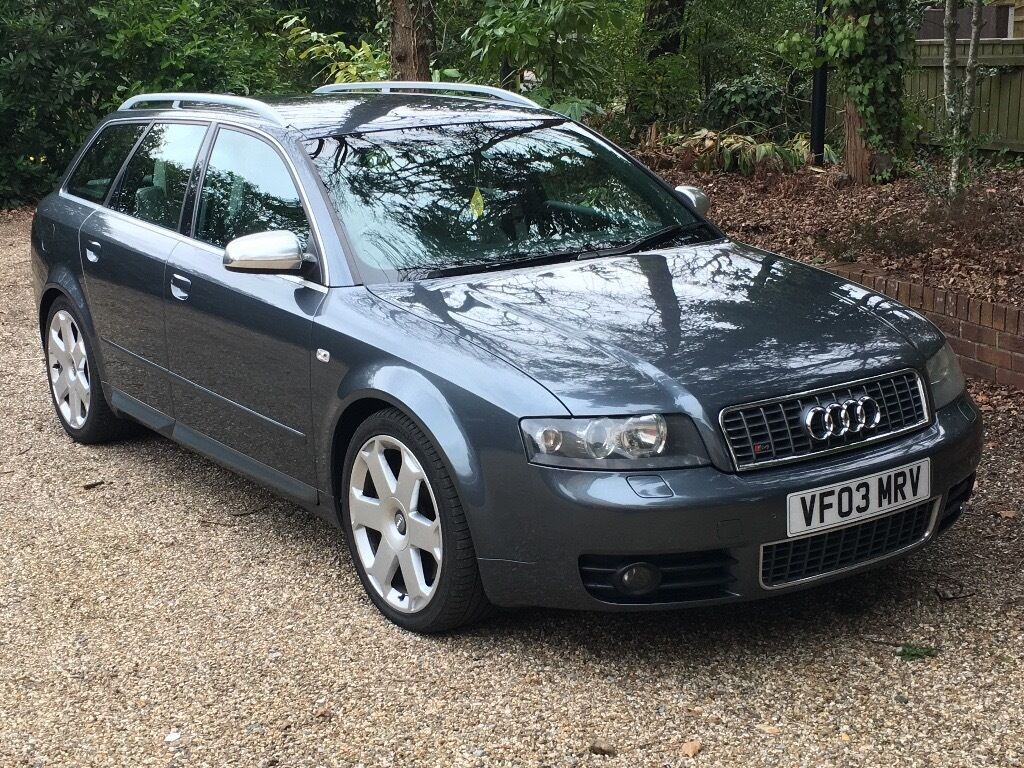 2003 audi a4 s4 4 2 v8 quattro b6 estate grey recaro heated seats bose satnav 2 keys. Black Bedroom Furniture Sets. Home Design Ideas