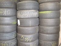 HIGH QUALITY PART WORN TYRES