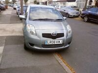 TOYOTA YARIS 2008 1 LADY OWNER FULL SERVICE HISTORY