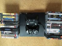 Slimline PS3, 2 controllers + over 30 games
