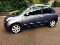 2010 AUTOMATIC+MICRA 1.2 ACENTA 3 DOOR+F/S/H+1 YEAR MOT