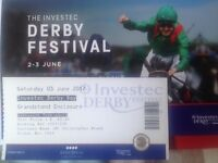Investec Derby Day - Ticket - Grandstand Enclosure
