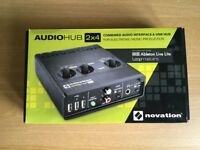 Novation Audiohub 2x4 - Hardly Used + Box