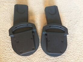 Mamas and papas car seat adaptors for zoom, sola, urbo with Maxi Cosi, Cybex
