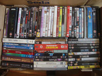 DVDs Job Lot Ideal for Car Booting 4 Boxes