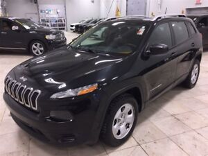 2014 Jeep Cherokee Sport *SIEGES/VOLANT CHAUFFANTS, BLUETOOTH, A