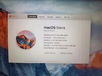 Macbook Air 11inch Mid 2012 Top Spec