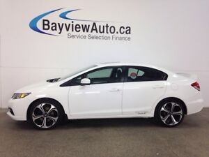 2015 Honda CIVIC SI- 6 SPD! SUNROOF! HEATED SEATS! NAV! BSA!