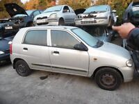 2005 SUZUKI ALTO GL (AUTOMATIC PETROL)(FOR PARTS ONLY)