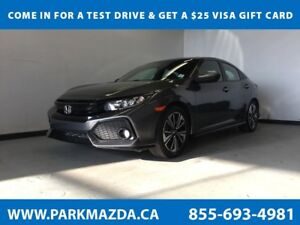 2017 Honda Civic Hatchback FWD - Bluetooth, Backup Cam, Heated F