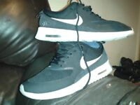 nike womens trainers, good conditon, uppers are great with some wear on sole size 4