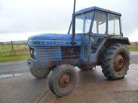 Leyland/Nuffield tractors