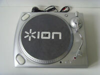 ION USB Turntable - Record Vynil records into MP3