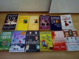 Chick-lit, ladies, women's books mixture Paperback Josephine Cox