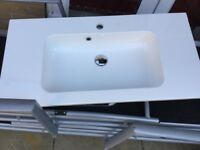 Wall hung basin and unit quality