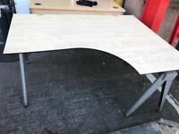 Designer corner office desk