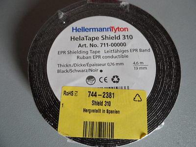 Helatape shield 310 Black Electrical Insulation Tape 19mm x 4.6m 0.76mm 7442381