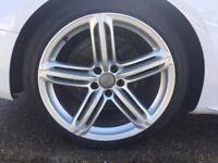 Original 19in Audi A5 wheels