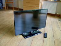 "SAMSUNG 32"" LED FREEVIEW HD SAORVIEW FREE DELIVERY 3xHDMI USB"