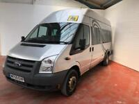 2010 59 TRANSIT HIGH TOP MINI BUS 17s NO VAT