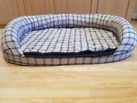 Large dog bed - excellent condition
