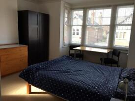 Light, bright double ensuite room in exceptionally clean shared flat £135 per week inclusive