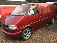 Volkswagen t4 120 k day van ,camper one owner metallic pearl red may px