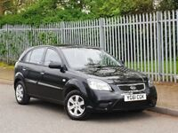 2011 61 KIA RIO 1.4+LOW MILES 70k +FSH WITH CAMBELT CHANGED+BARGAIN+ CHEAPEST IN THE COUNTRY