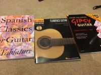 Classical/Spanish guitar books