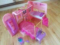 Barbie Bed And Bath Play set