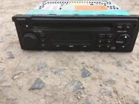 Radio/CD player original for Peugeot, Citroen, Fiat