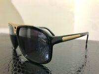LOUIS VUITTON Acetate Evidence Sunglasses Z0350W in Black LV