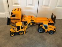 Tractor/JCB transporter/backhoe Loader